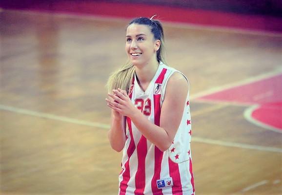 Ponajbolja igračica Crvene zvezde pred gostovanje u Banovićima
