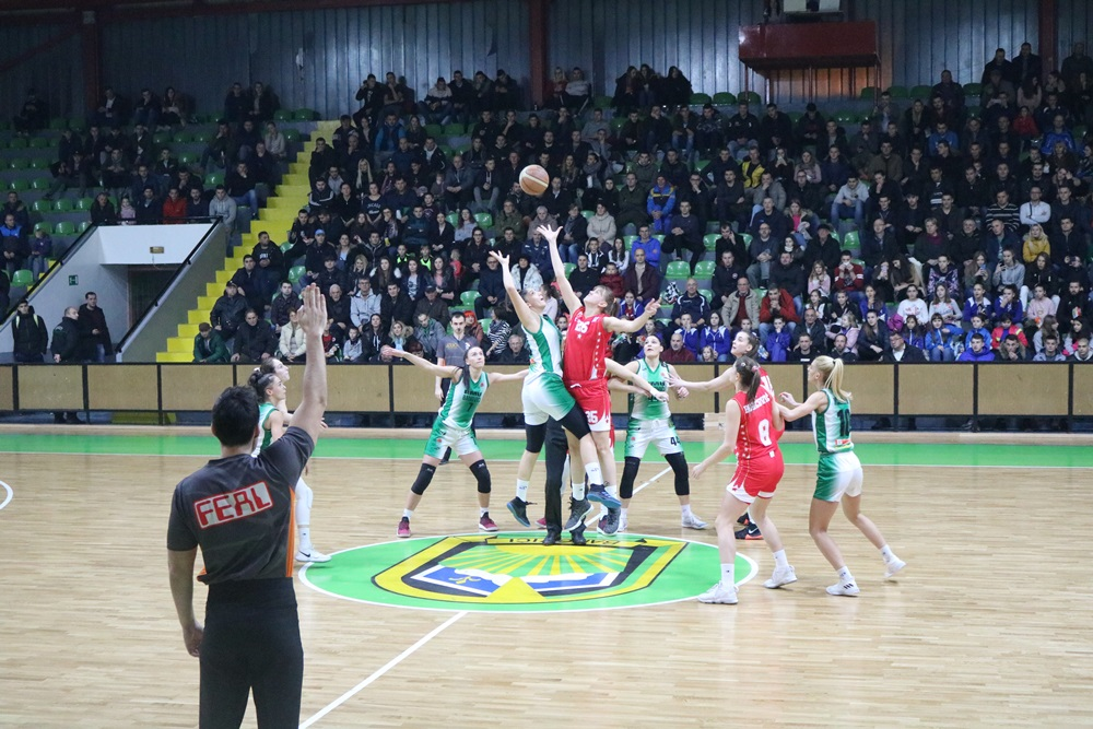 Košarkašice Banovića poražene od Crvene Zvezde