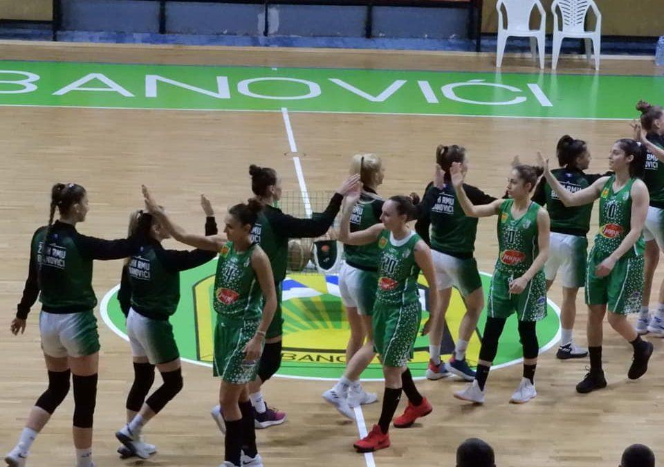 Košarkašice Banovića otputovale u goste prvakinjama Bugarske