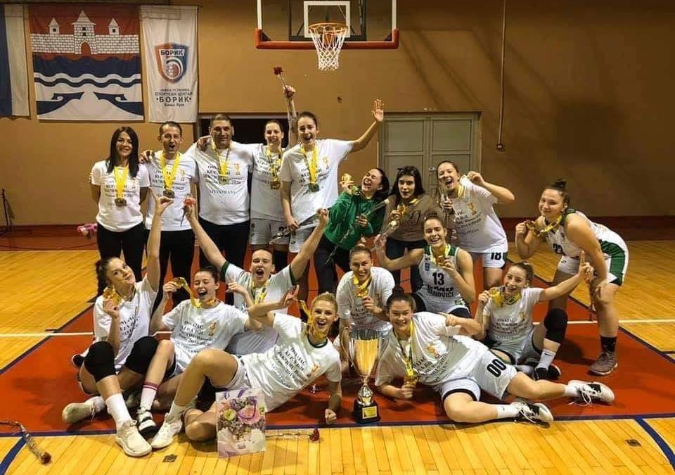 Trostruki šampion u ženskoj košarci BiH oduševljava sve svojim radom i kontinuitetom