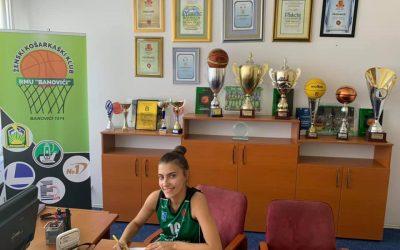 Kadetkinje i juniorke potpisale svoje prve stipendijske ugovore