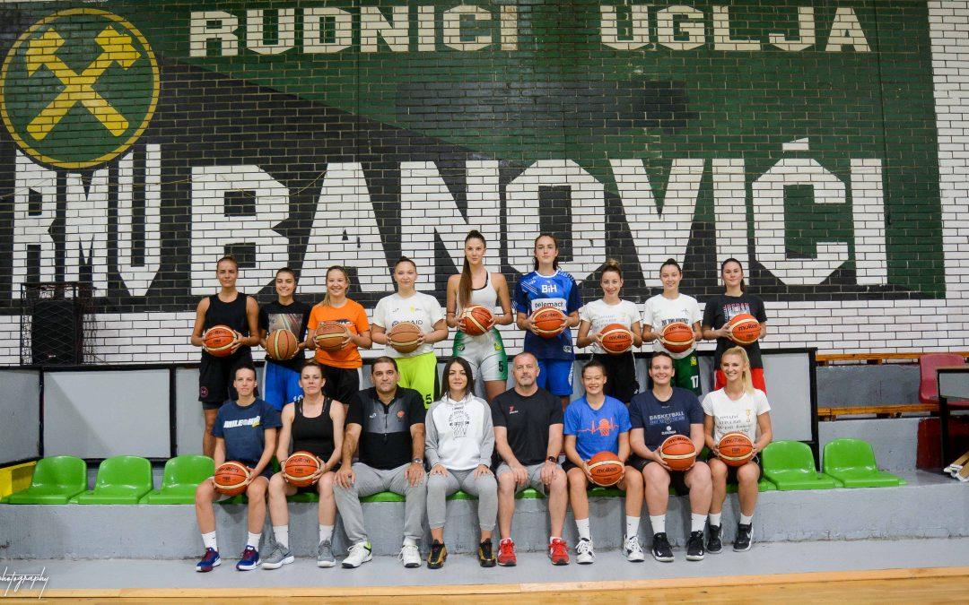 """ŽKK """"RMU BANOVIĆI"""" večeras zvanično krenuo sa pripremnim dijelom za takmičarsku sezonu 2020./21."""