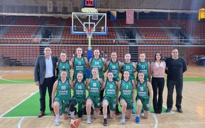 """Seniorke ŽKK,,RMU BANOVIĆI"""" u okviru 19.kola savladale ekipu Čelika iz Zenice"""