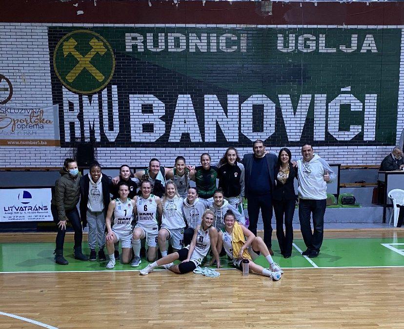 Ubjedljiva pobjeda seniorki protiv ekipe Rudar Sporta iz Ugljevika