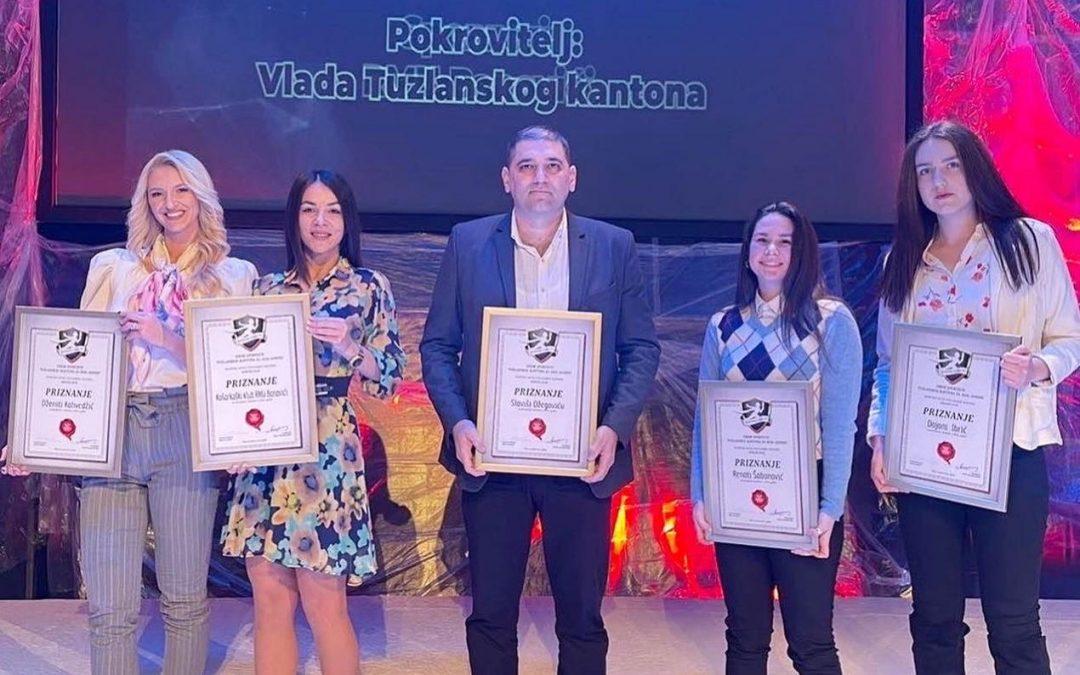 Izbor sportiste TK: Dženita, Dajana, Renata i trener Slaviša…ŽKK RMU Banovići najbolja ekipa