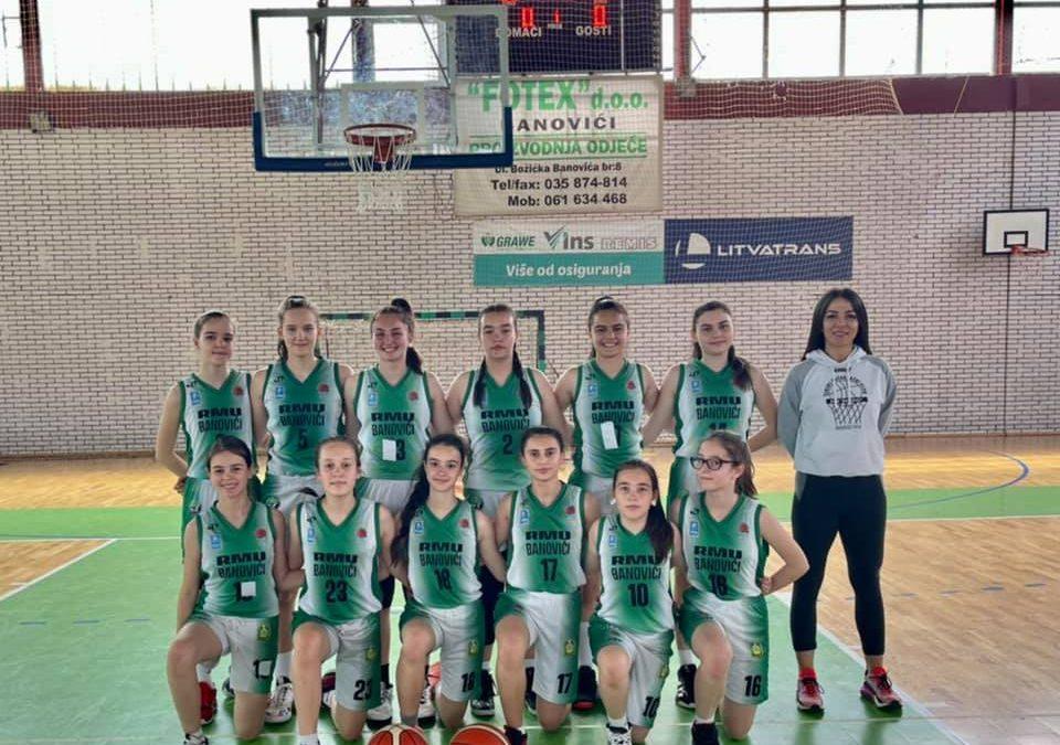 Još jedna pobjeda naših pionirki na današnjem turniru LIGE MLADIH Bosne i Hercegovine.
